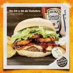 Hambúrguer onion rib + fritas + canudinho com maionese