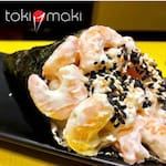 Temaki camarão cozido