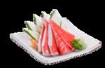 123- sashimi kani (10 unidades)