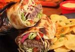 Burguito - delicioso burrito de hambúrguer