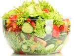 Salada nobre grande com grelhado a sua escolha