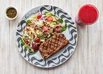 319- salada verde com molho ranch