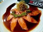 Ussizikuri de salmão ao azeite extra virgem (4 unidades)