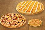 2 Pizzas Família + broto doce