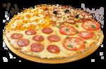 Monte sua Pizza Super Família + refrigerante 2l