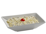 Prato Spaghetti ao Molho Branco e Bacon