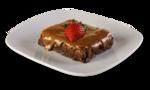 Brownie com Cobertura de Chocolate ao Leite