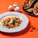 Taco camarones michuacan