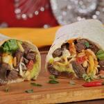Burrito pollo crocante
