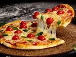 Pizza grande redonda 2 sabor