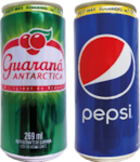 Pepsi ou guaraná Antartica 269ml