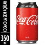 Refrigerante lata coca cola sem açucar
