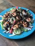 Salada Oriental de Camarão - NOVO