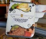 Lasanha de Rosbife com Molho Funghi com Toque de Gorgonzola (02 pessoas)