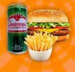2 x bacon  (com: 2 batata frita e 2 refrigerante: Guaraná antártica de: 269ml)