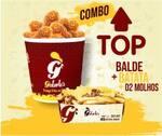 Combo top - tirinhas/drumets + batata + molho grátis