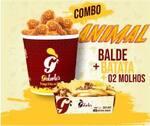 Combo animal - tirinhas/drumets + batata + molho grátis