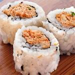 Uramaki salmão grelhado