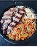 Marmitex carne (trocas acompanhamentos só as listadas)