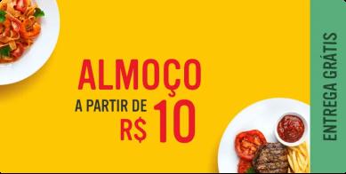 Almoço a partir de 10 reais