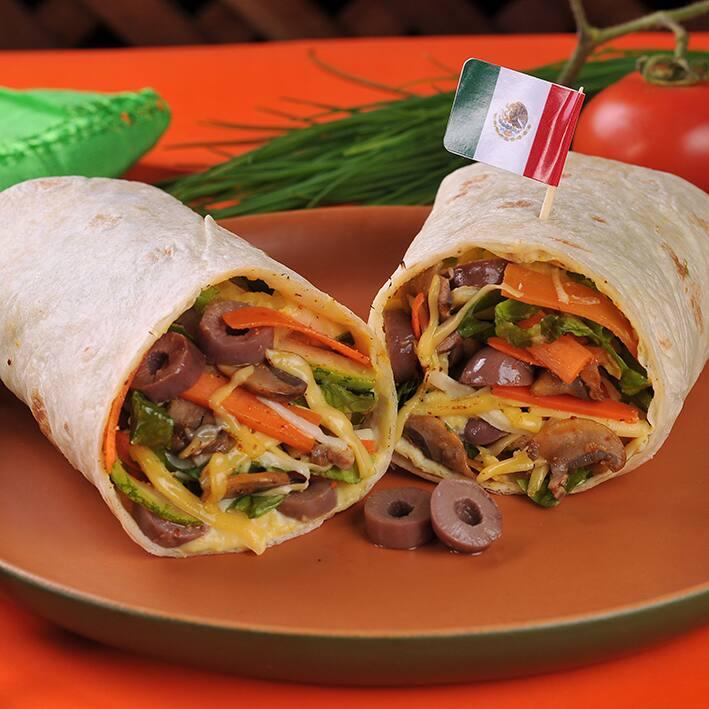 Burrito veggie carlos santana