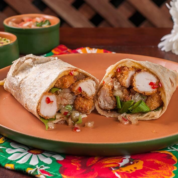Burrito pollo el clássico