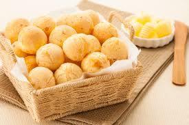 3008 - 12 mini pães de queijo + suco de laranja