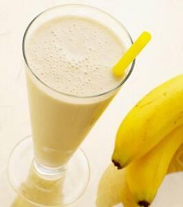 Vitamina Banana com Leite
