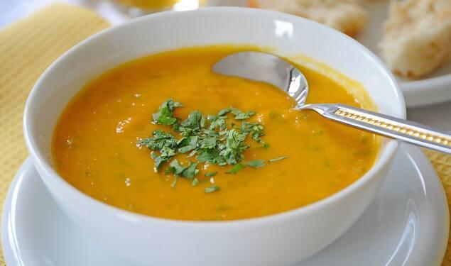 Sopa Vegana Legumes Quente
