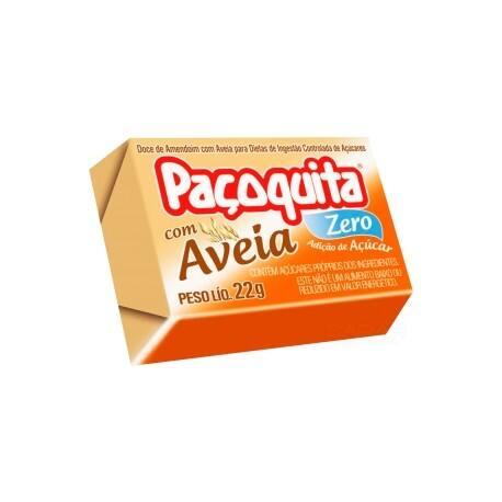 Paçoquita Aveia Zero