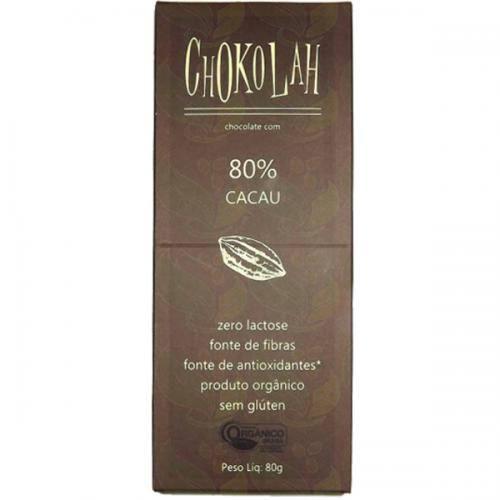 Chocolate Chookolah 80%Cacau 0%Açucar 0%Lactose