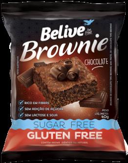 Brownie Chocolate 0%Açucar 0%Gluten