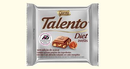 Talento Diet 0%Açucar
