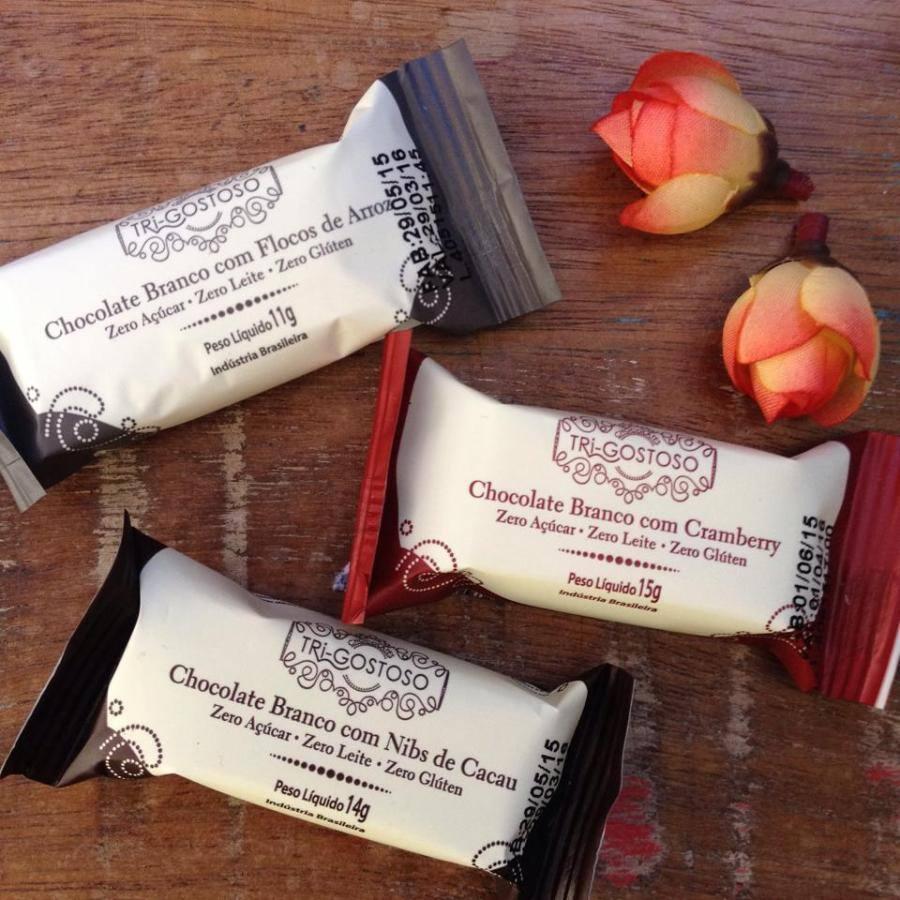 Chocolate Zero Açucar Sem Glúten Tri-Gostoso 14g