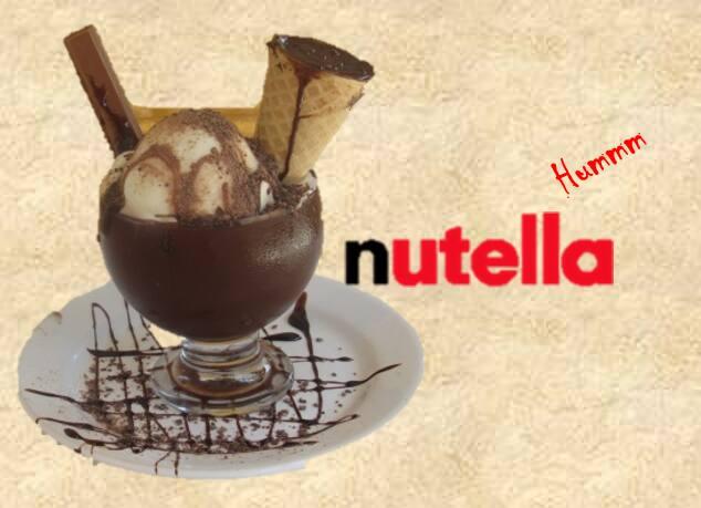 Taça Nutella humm