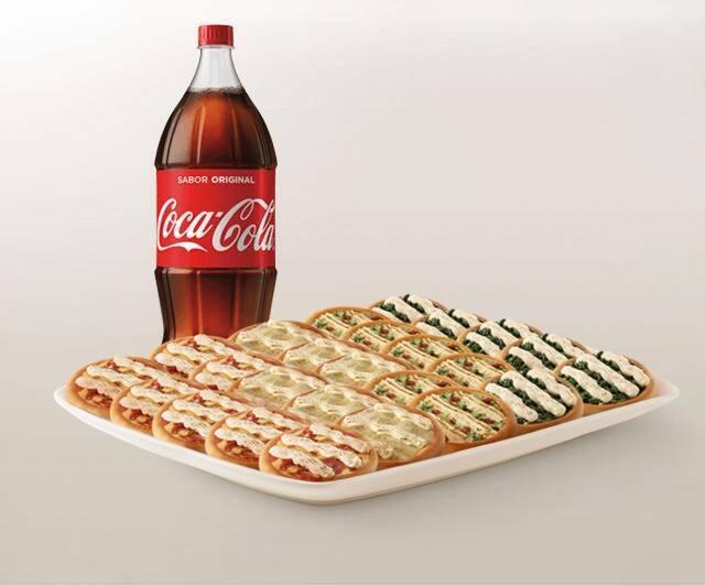 Promoção compre 20 leve 25 Esfihas Premium + Refrigerante 2l ou Suco 1l