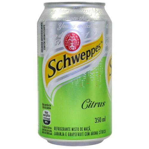 Schweppes citrus lata