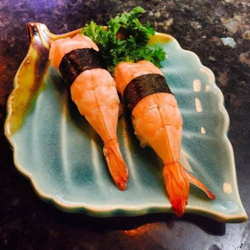Niguiri camarão (2 unidades)