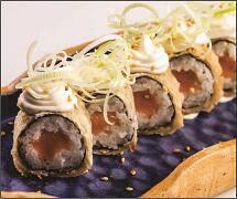 Hot sake fry (08 peças)