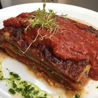 Lasanha Veggie + Salada