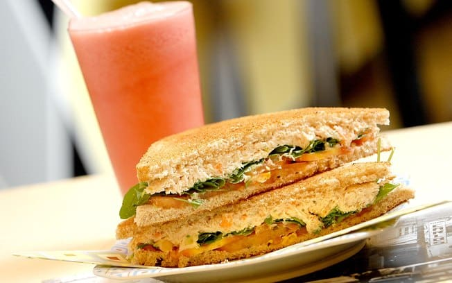 Sanduíche natural + suco natural 500ml