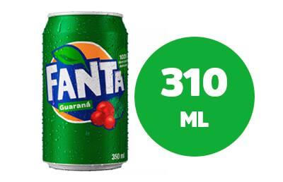 Refrigerante em Lata - Fanta Guarana