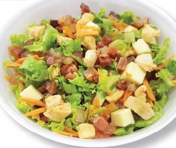 Salada premium de frango