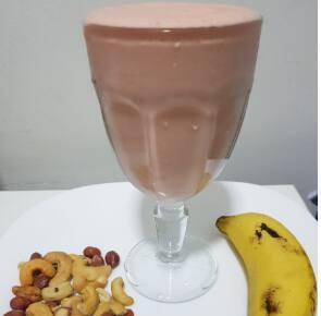 Delicioso Shake Akmos Sabor Frutas Tropicais