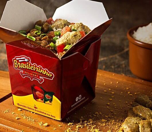 Box picanha suína