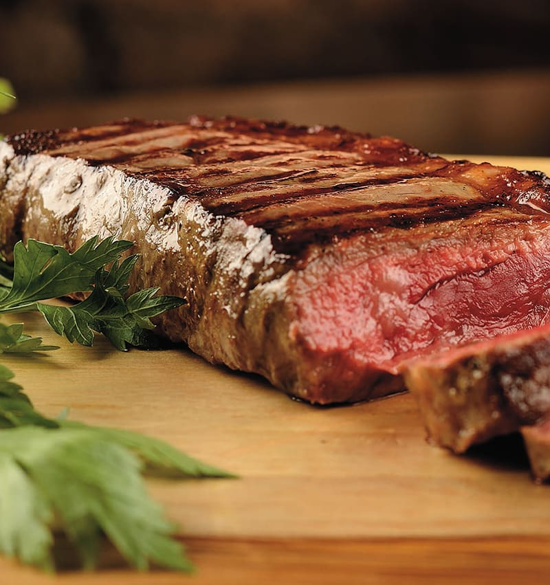 Baby beef (angus) beef passion