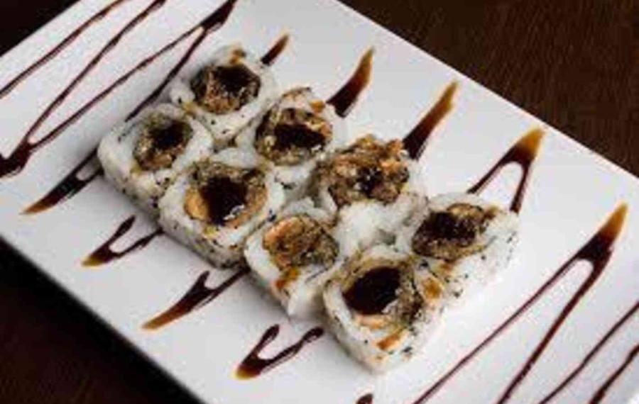4b - sushi de salmão skin (8 peças)