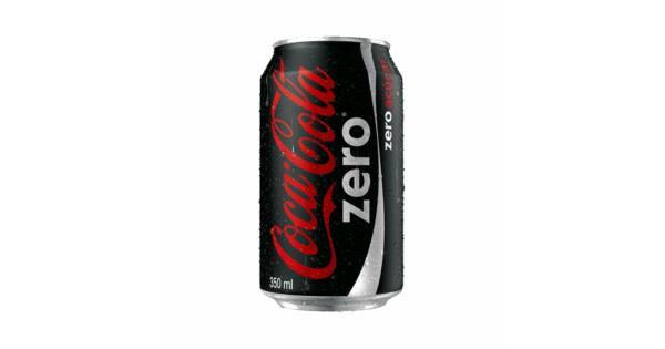 COCA COLA ZERO LATA DE 350ml