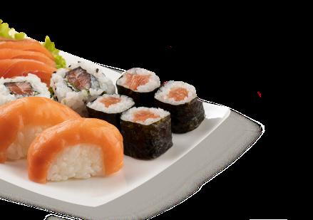 Imagem de um prato com comida