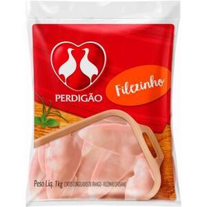 Filezinho de Frango Perdigão Sassami Congelado 1kg